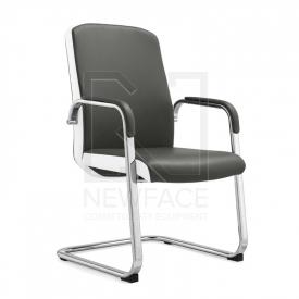 Fotel Kosmetyczny Rico C1501 Szaro-Biały