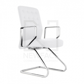 Fotel Kosmetyczny Rico 399 Biały #2