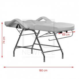 Fotel Kosmetyczny A 211 Biały #6
