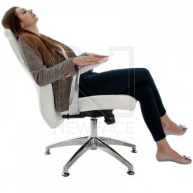 Fotel Kosmetyczny Rico 206 Biały #3