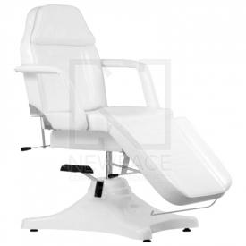 Fotel Kosmetyczny Hydrauliczny A 234 Biały