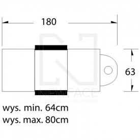 Fotel Kosmetyczny Hydrauliczny A 234 Biały #6