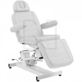Fotel Kosmetyczny elektryczny Azzurro 705 Biały