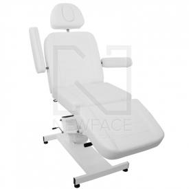 Fotel Kosmetyczny elektryczny Azzurro 705 Biały #3