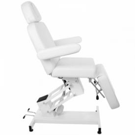 Fotel Kosmetyczny elektryczny Azzurro 705 Biały #9