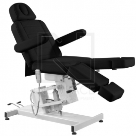 Fotel do pedicure elektryczny Azzurro 706 Czarny