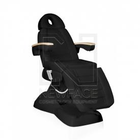 Fotel Kosmetyczny Elektryczny Lux Czarny #1