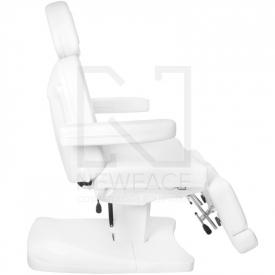 Fotel Kosmetyczny Elektr. Azzurro 803as Pedi 2 Siln. Biały #3