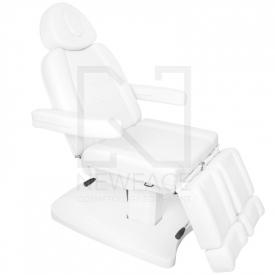 Fotel Kosmetyczny Elektr. Azzurro 803as Pedi 2 Siln. Biały #4