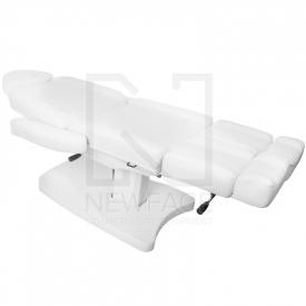 Fotel Kosmetyczny Elektr. Azzurro 803as Pedi 2 Siln. Biały #8