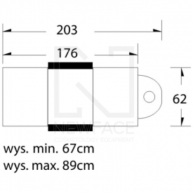 Fotel do pedicure Elektryczny Lux 3m #3