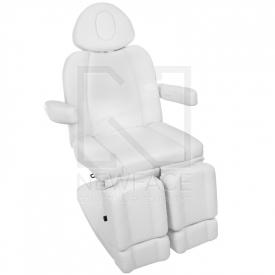 Fotel Kosmetyczny Elektr. Azzurro 708as Pedi 3 Siln. Biały #3