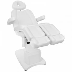 Fotel Kosmetyczny Elektr. Azzurro 708as Pedi 3 Siln. Biały #5