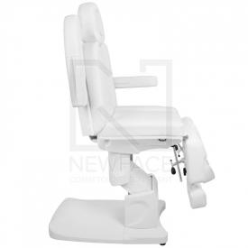 Fotel Kosmetyczny Elektr. Azzurro 708as Pedi 3 Siln. Biały #7