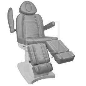Fotel Kosmetyczny Elektr. Azzurro 708as Pedi 3 Siln. Szary #1