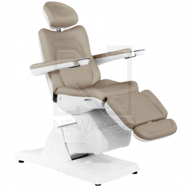 Fotel Kosmetyczny Elektryczny Azzurro 870 Cappuccino