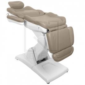 Fotel Kosmetyczny Elektryczny Azzurro 870 Cappuccino #5