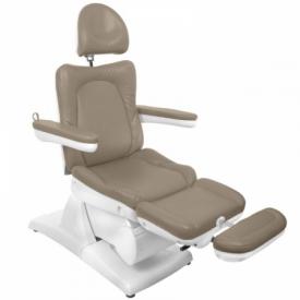 Fotel Kosmetyczny Elektryczny Azzurro 870 Cappuccino #9