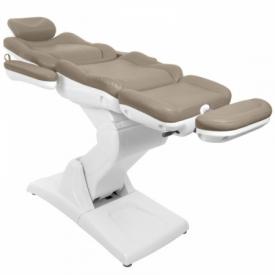 Fotel Kosmetyczny Elektryczny Azzurro 870 Cappuccino #11