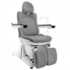 Fotel Do Pedicure Elektryczny Azzurro 870S - Szary