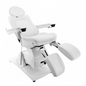 Fotel Do Pedicure Elektryczny Azzurro 877 SM - Biały #2