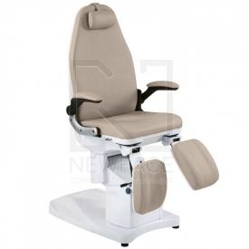 Fotel Podologiczny Elektryczny Azzurro 709A Cappuccino