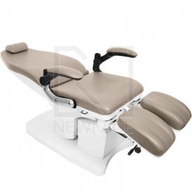 Fotel Podologiczny Elektryczny Azzurro 709A Cappuccino #4
