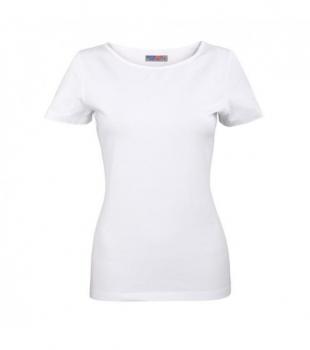 Koszulka Elastan Damska Biała, Rozmiar M #1