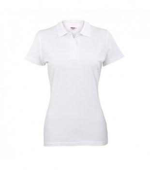 Koszulka Polo Damska Biała, Rozmiar M #1