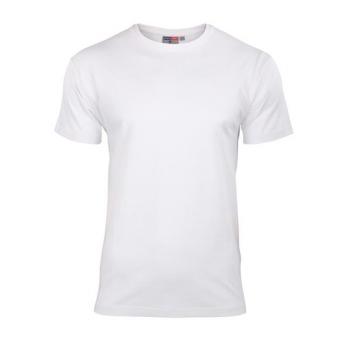 Koszulka Elastan Męska Biała, Rozmiar L #1