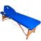Stół Składany Do Masażu Komfort Wood AT-009B Blue #3