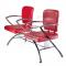 Krzesło do poczekalni LIVIO czerwone BD-6709(1003) #5