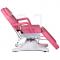 Fotel kosmetyczny hydrauliczny BD-8222 różowy #3
