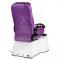 Fotel do pedicure z masażem BR-3820D Fioletowy #8