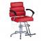 Fotel fryzjerski FIORE czerwony BR-3857 #1