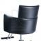 Fotel fryzjerski LUIGI BR-3927 czarno-biały #3