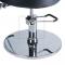 Fotel fryzjerski LUIGI BR-3927 czarno-biały #4