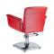 Fotel fryzjerski ELIO czerwony BD-1038 #2