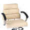 Fotel fryzjerski FIORE kremowy BR-3857 #2