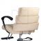Fotel fryzjerski FIORE kremowy BR-3857 #3