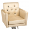 Fotel fryzjerski Leone kremowy BM-297 #2