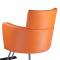 Fotel fryzjerski LUIGI BR-3927 pomarańczowy #3