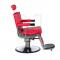 Fotel fryzjerski LUMBER BD-2121 Czerwony #4