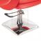 Fotel fryzjerski NICO czerwony BD-1088 #5