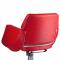 Fotel fryzjerski NICO czerwony-kremowy BD-1088 #2
