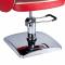 Fotel fryzjerski NICO czerwony-kremowy BD-1088 #4
