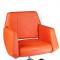 Fotel fryzjerski NICO pomarańczowy BD-1088 #2