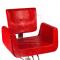 Fotel fryzjerski Vito BM-017 czerwony LUX #2