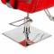 Fotel fryzjerski Vito BM-017 czerwony LUX #5