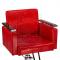 Fotel fryzjerski Simone czerwony BM-204 #2